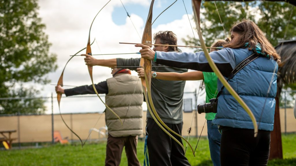 The PSE Coyote Recurve Bow is great for many archery activities.