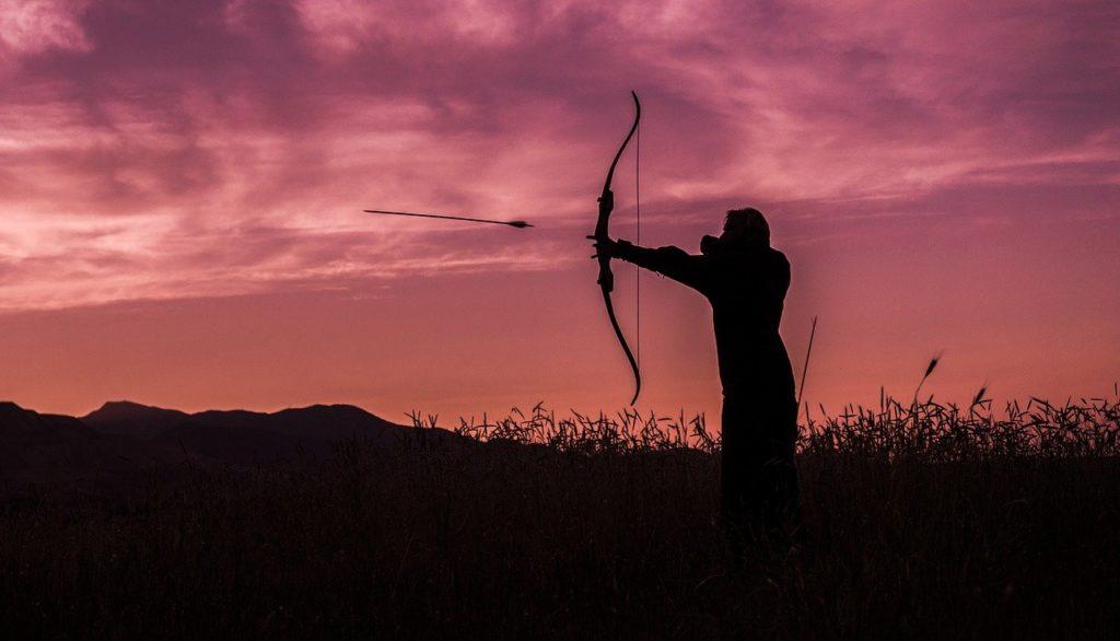archer draw back