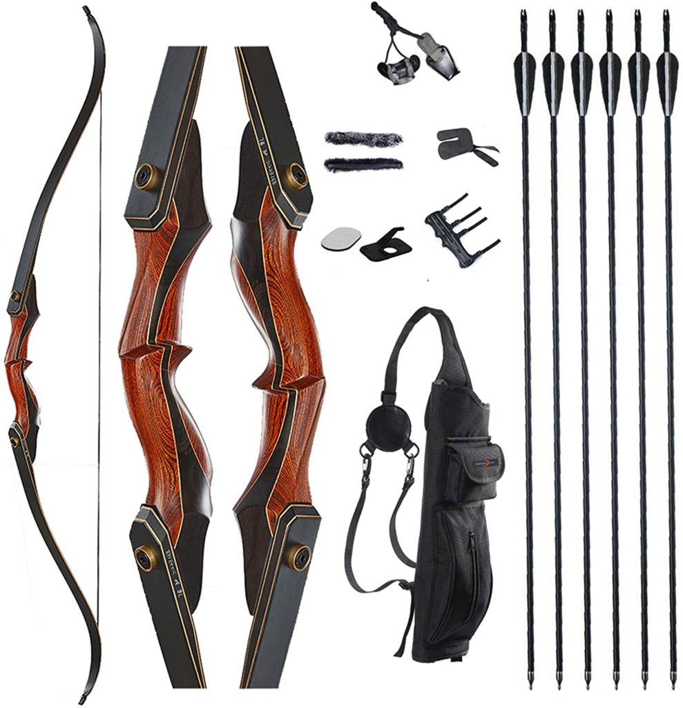 Takedown Hunting recurve bow